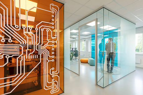 Office as a space for interaction and innovation