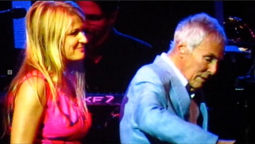 A special time invited on stage by my inspiration, Burt Bacharach