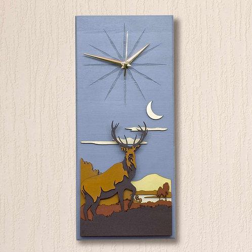 'Moonlight Warrior' Wall Clock