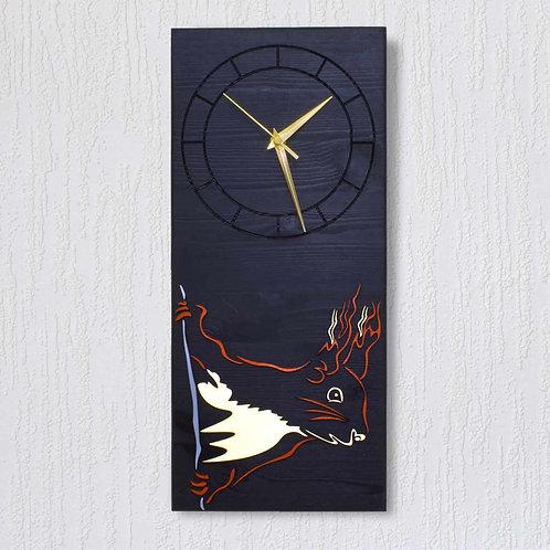 'Peekaboo' Wall Clock