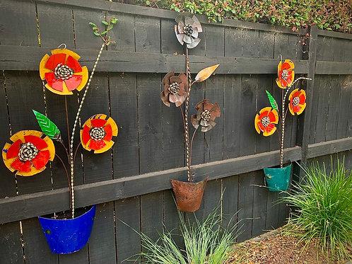 Wall Hanging Flower Pot - Large