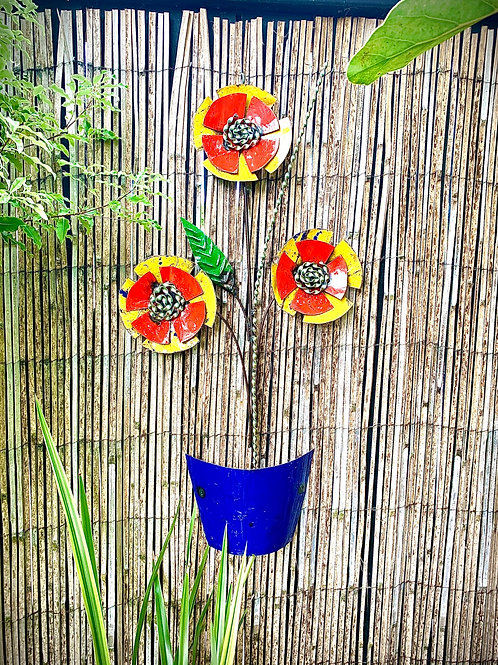 Wall Hanging Flower Pot - Medium