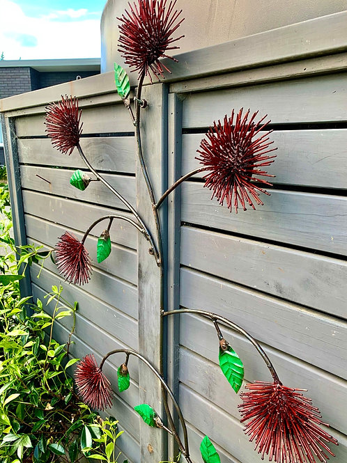 Pohutukawa Wall/Fence Decoration