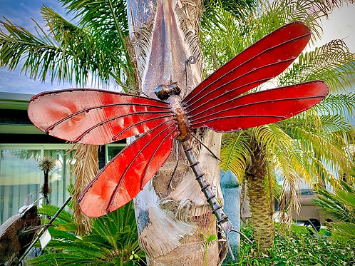 Dragonfly: Large wall mount