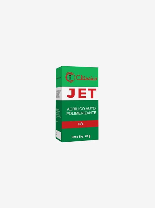 Resina Acrilica Auto Jet Pó Incolor 78 G Clássico
