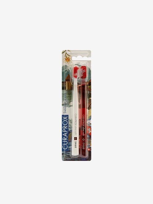 Escova Dental Curaprox 5460 - Edição Especial Swiss