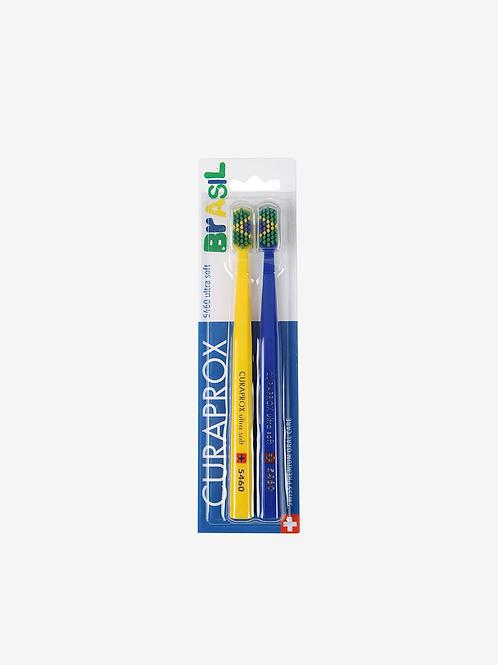 Escova Dental Curaprox - Especial Brasil c/ 2 Unidades