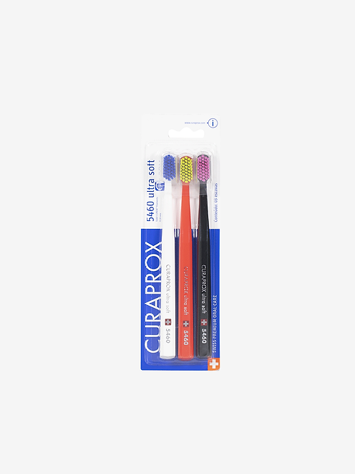 Escova Dental Curaprox 5460 Ultra Soft Trio