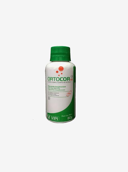 Resina Acrílica Ortocor RUBI 80G VIPI