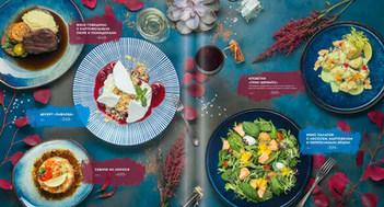 Дизайн меню с фотографиями  для меню ресторана ПРОСУШИ, Москва