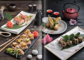 Дизайн сезонного меню для ресторана япноской кухни