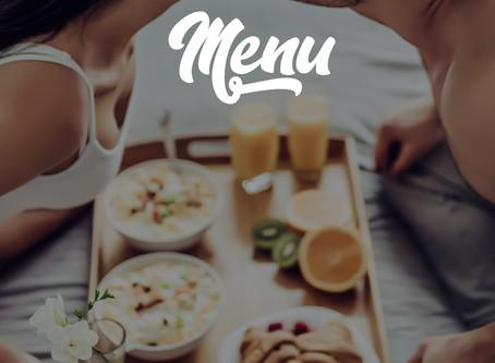 """Дизайн меню для ресторана отеля """"ВЕГА"""""""