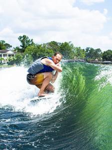 Wake Surfing