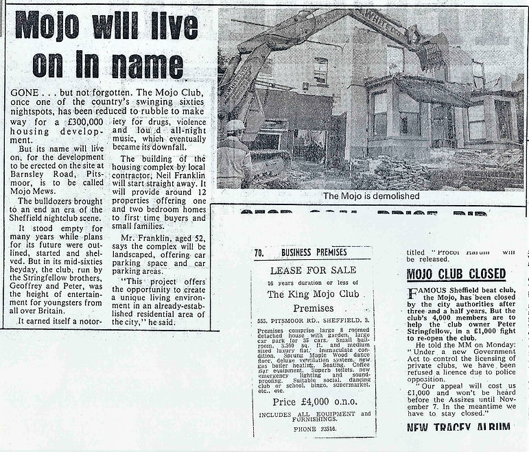 mojo demolition and lease sale cuttings