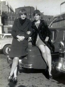 Lynn Allen and Corrinne Howard (now Holm