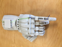 3D printed articulated hand
