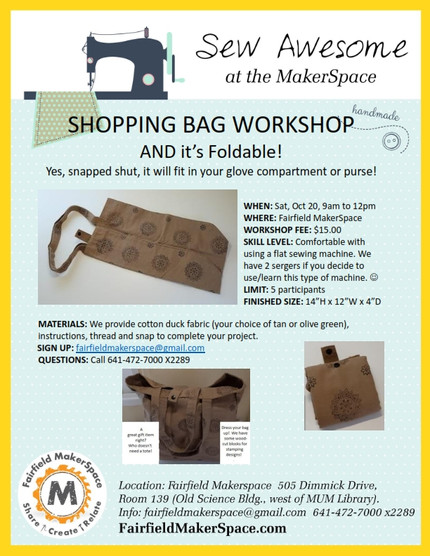 A Foldable Shopping Bag