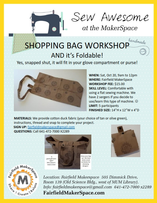 A Foldable Shopping Bag