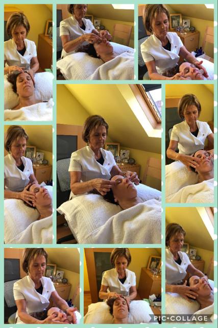 ZONE FACE LIFT TREATMENT, SYLVIA AT WORK