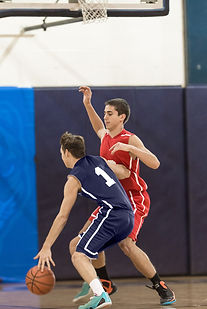 Jogo de basquete colegial