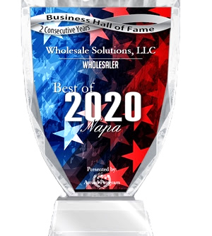 Best Wholesaler Napa - 2020