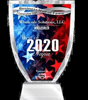 Best Wholesaler Napa - 2020