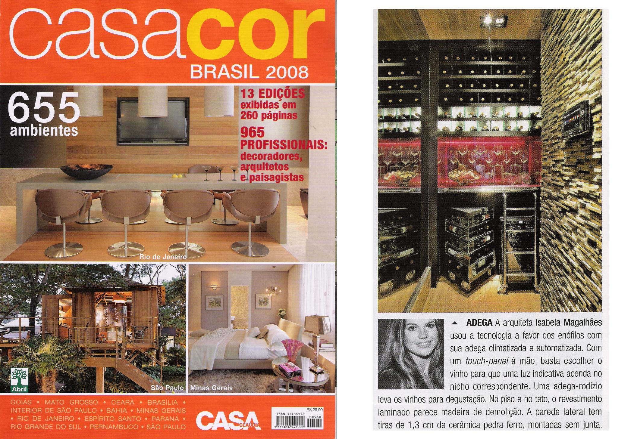 Revista Casa Cláudia Casa Cor