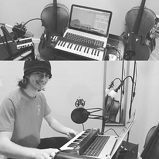 Cello recording studio