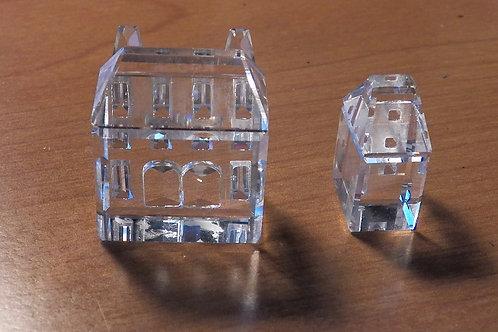 S1129 Swarovski Crystal Houses Iii & Iv Figurines MintI'm a product