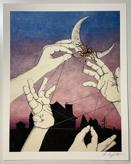 """Print of """"Cat's Cradle and Other Universal Truths"""""""