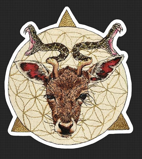 Fawn Sticker