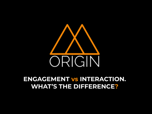 The key difference between 'engagement' and 'interaction' in CTV Advertising.