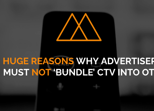 Three Simple Reasons Why CTV Should Never Be Sold As OTT