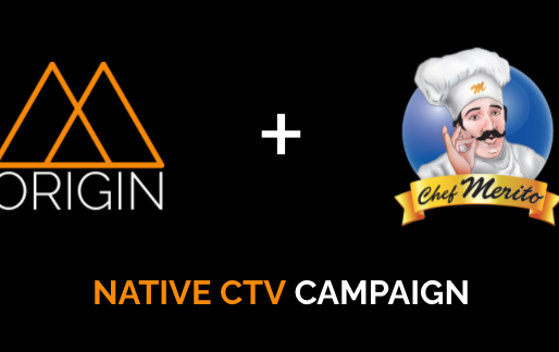 Chef Merito Engages Targeted Hispanic Audiences With Origin Native CTV Campaign powered by Tru Optik