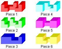 Burr Puzzle # A2