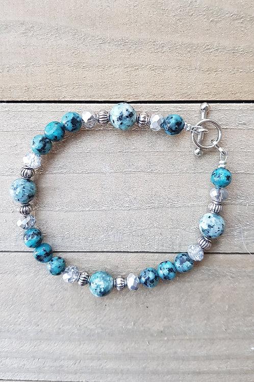 """Bracelet Turquoise africaine """"Tekoa"""""""