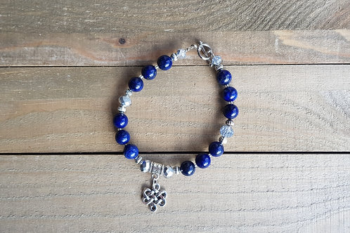 "Bracelet ""Unity"" -  Lapis Lazuli"
