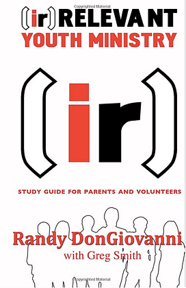 [ir] Youth Ministry - Guide for Parents/Volunteers