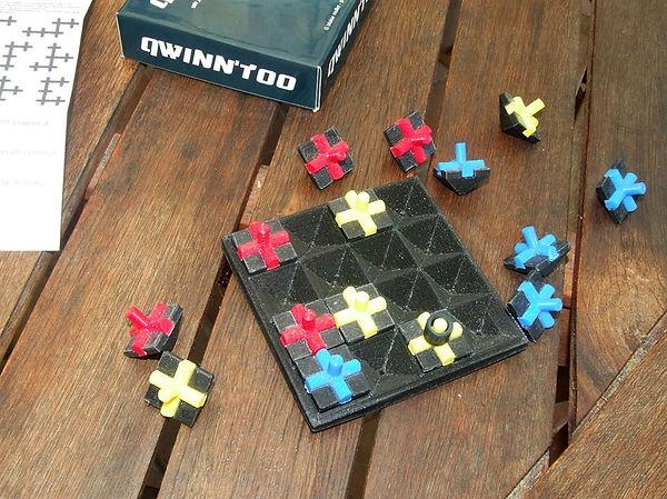 Prototype d'un jeu qu'il pense au point.