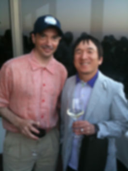 Me with Mr. Ishihara, creator of Pokemon