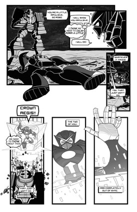Go Robo Now! Battle of Gods 3 Prelude Page
