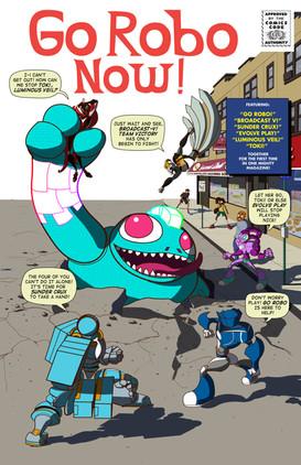 Go Robo Now Fantastic Four Homage