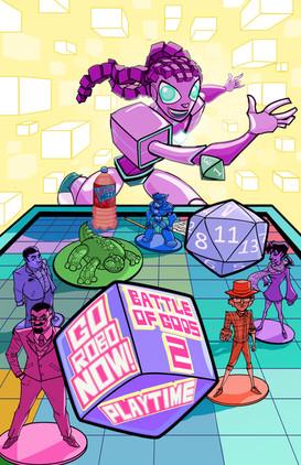 Go Robo Now: Battle of Gods #2 Back Cover