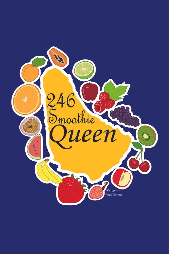 24/6 Smoothie Queen Logo