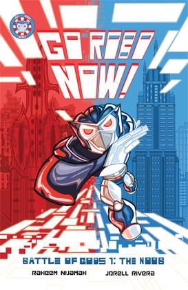 Go Robo Now: Battle of Gods #1 Cover