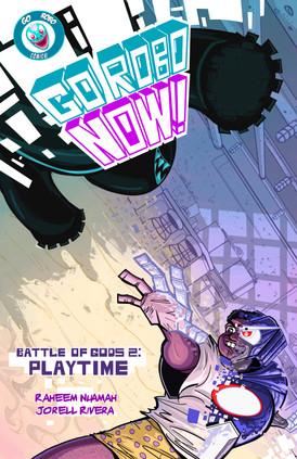 Go Robo Now: Battle of Gods #2 Cover