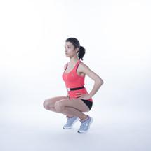 Moover range of motion sensor squat front deep