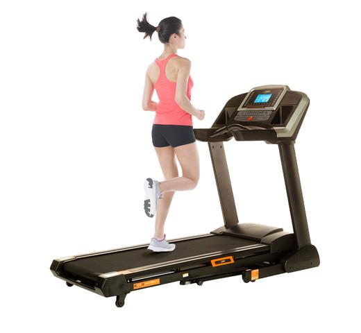 Foot pressure treadmill
