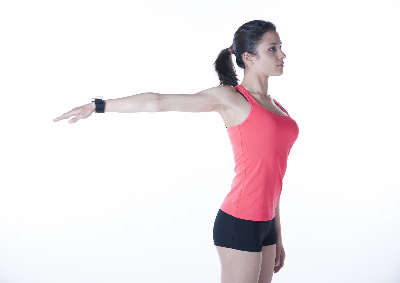 Moover range of motion sensor arm motion