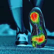 foot pressure art by Sensor Medica